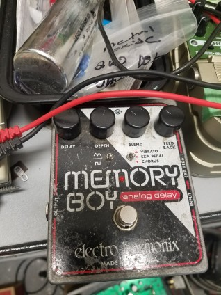 One of many cool stompboxes...