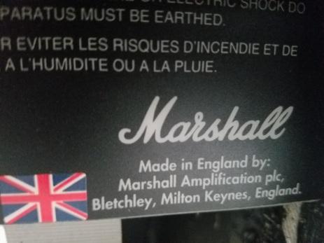 All-tube Marshall goodness...