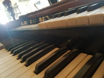 Hammond M100 organ