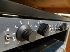 Re-racked Neve preamps