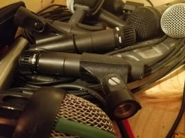 SM57s, SM58s, and other dynamic mics